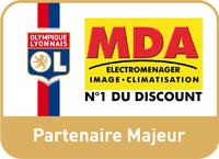 MDA Electromnéager, partenaire majeur de l'Olympique Lyonnais
